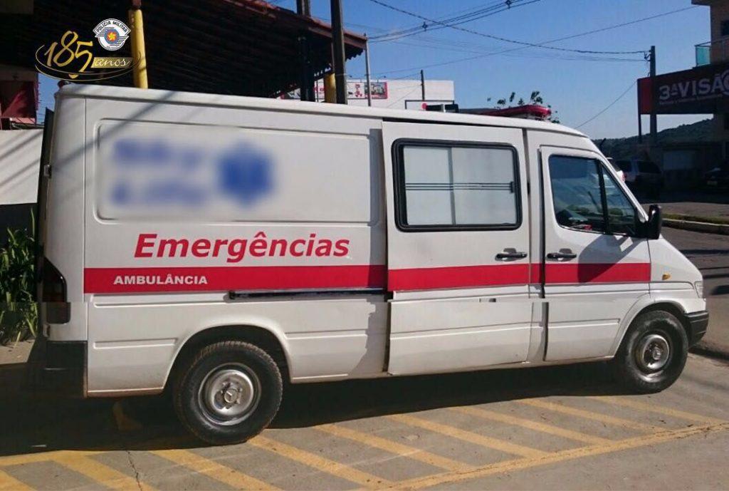 Ambulância estava carregada com mais de uma tonela da maconha