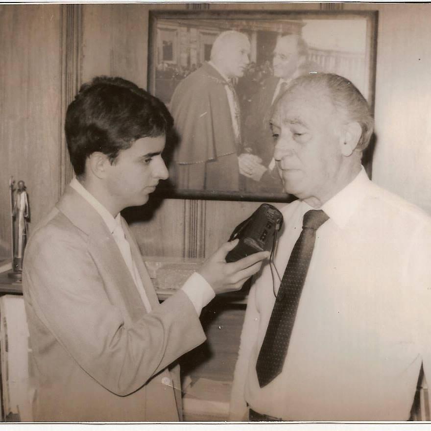 Início de carreira na Rádio Univesal de São Roque (dezembro de 1985): governador Franco Montoro autoriza a construção do acesso de São Roque à Castello Branco